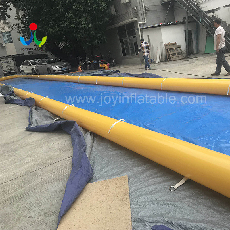 Customized Inflatable City Street Water Slide-4