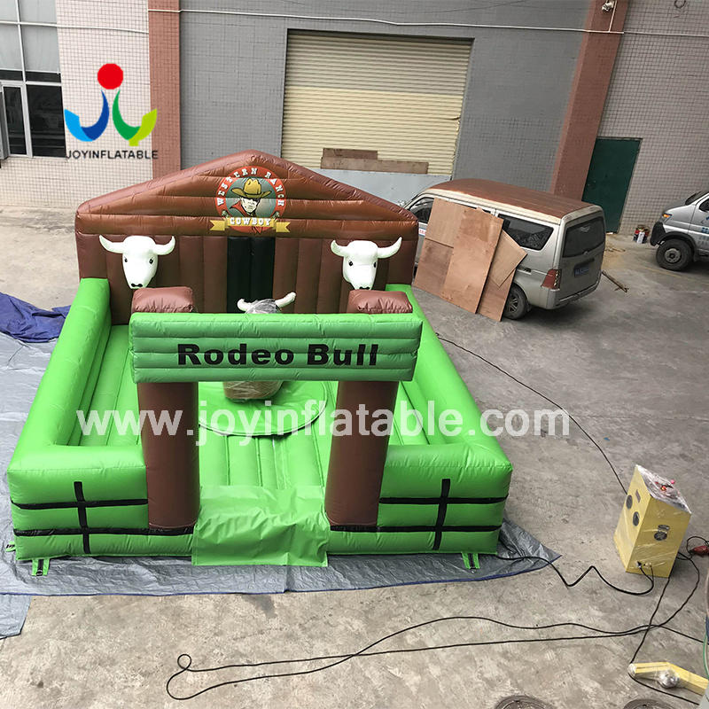 Mechanical Rodeo With PVC Tarpaulin Inflatable Bouncer for Kids And Adults