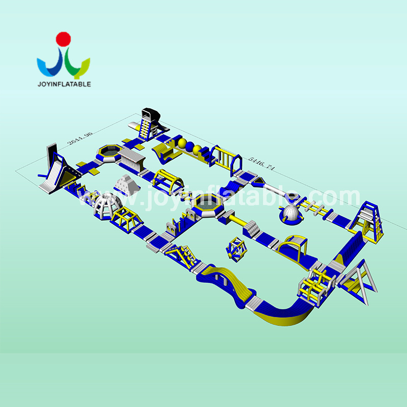 JOY inflatable inflatable aqua park with good price for kids-1