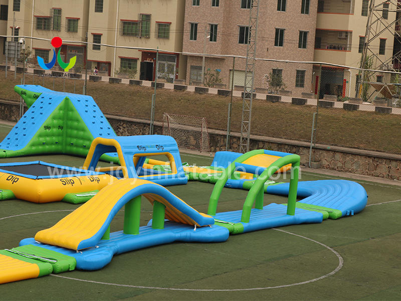 Inflatable Aqua  Action Tower Ocean Park Water Game Toys Video