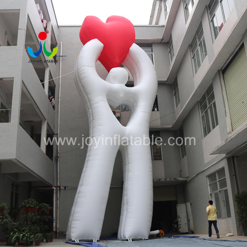 Custom Gaint Inflatable Loving Heart Model  For Advertising