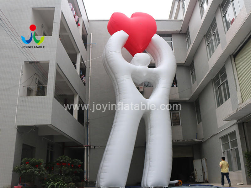 Custom Gaint Inflatable Loving Heart Model  For Advertising Video