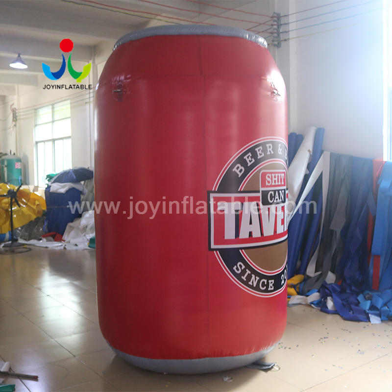 2.5M High Full Digital Inflatable Beer Bottle Pop Can for Outdoors Advertising