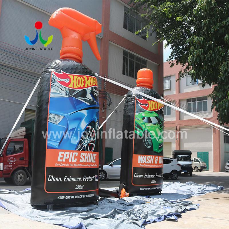 3 D Inflatable Car Detergent Bottle For Advertising