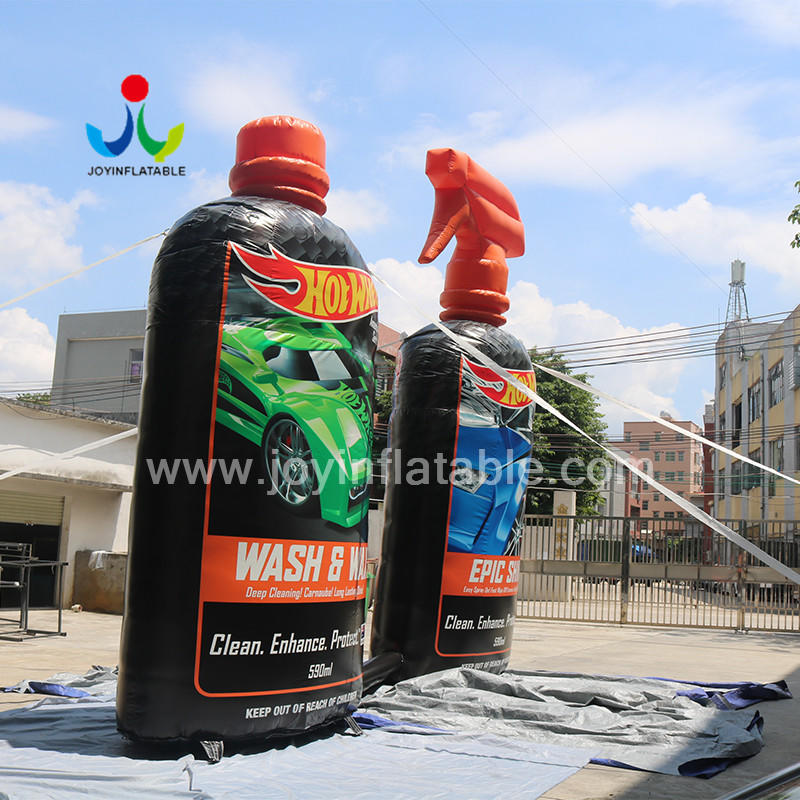 3 D Inflatable Car Detergent Bottle For Advertising