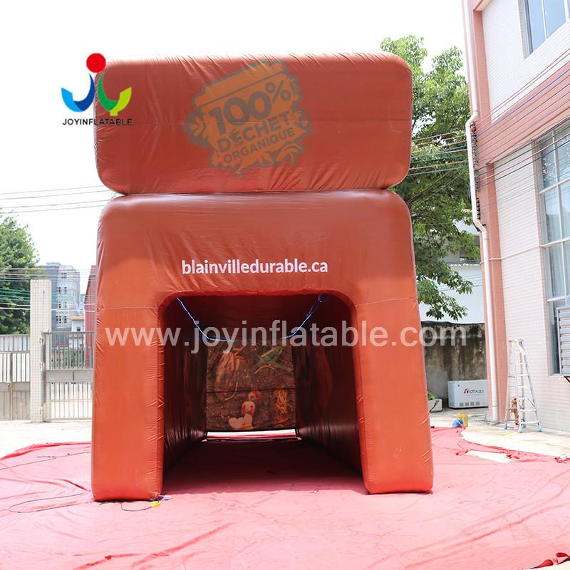 Selaed Inflatable Trash Can /Rubbish Bin advertising Model Customized Logo