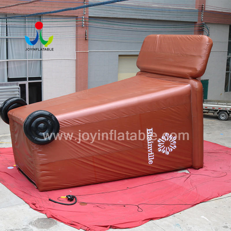 Selaed Inflatable Trash Can /Rubbish Bin advertising Model Customized Logo