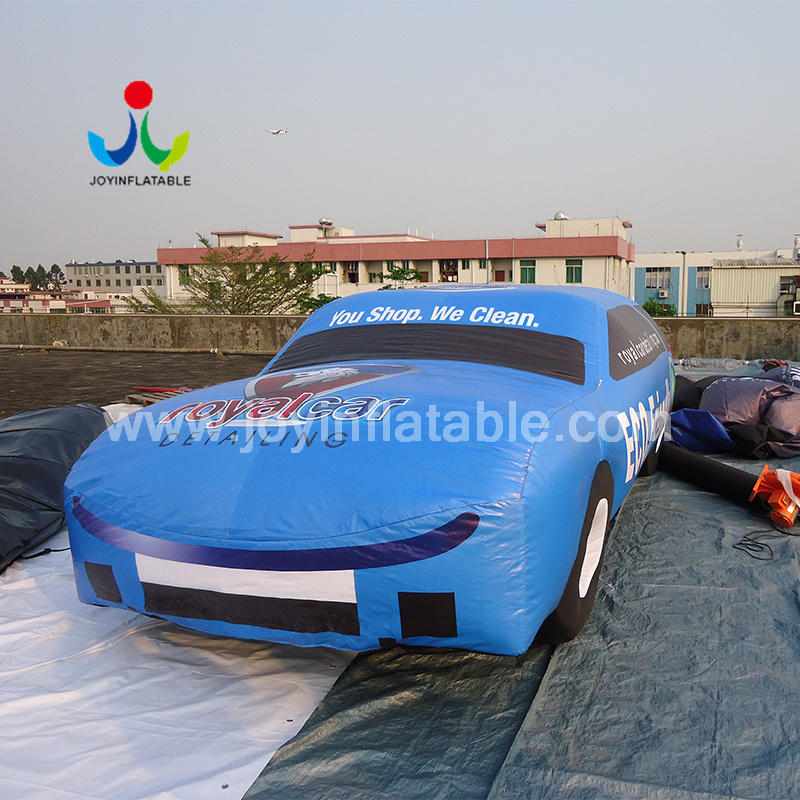 Outdoors Promotion Inflatable Vehicle Car For Advertising Display