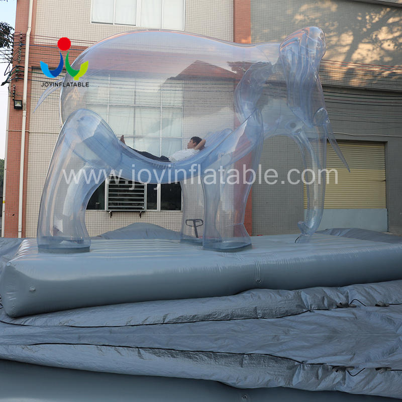 Custom Design Inflatable Cartoon Elephant Animals For Outdoor Activities Decoration