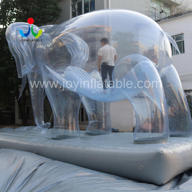 Custom Design Inflatable Cartoon Elephant Animals For Outdoor Activities Decoration