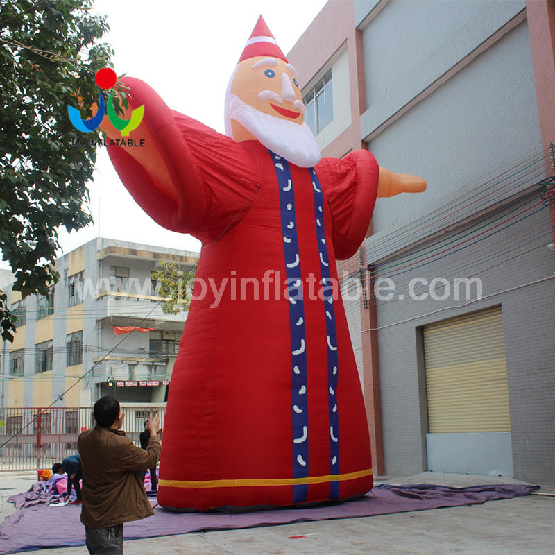 Outdoor 10M Inflatable Santa Claus Father Christmas Decoration for sale