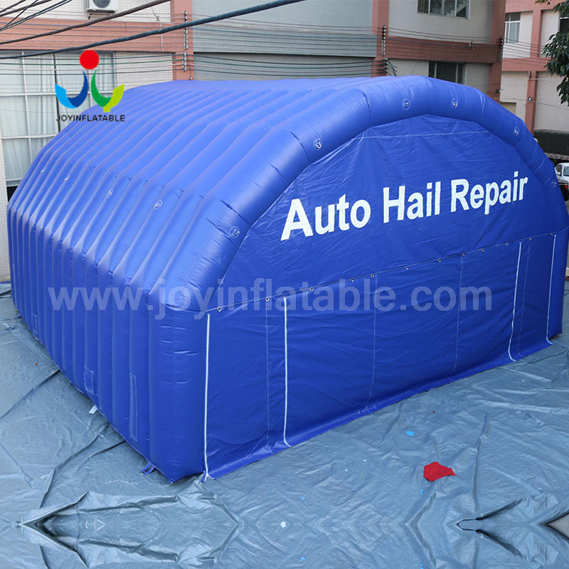 Large Inflatable Working Room Tent For Auto Hail Repair