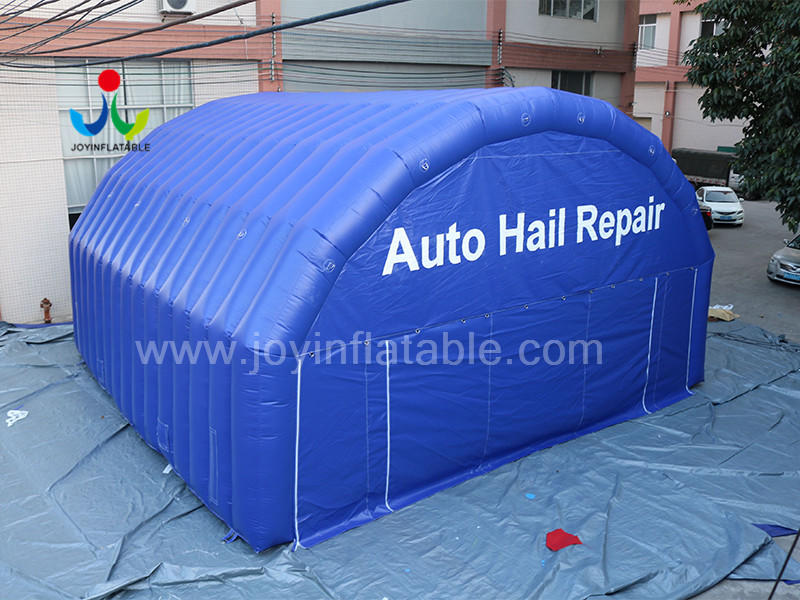Large Inflatable Working Room Tent For Auto Hail Repair Video