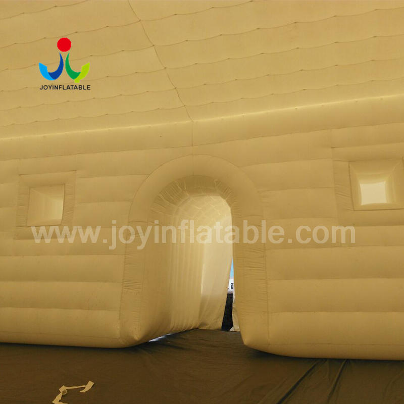 Giant Electric Inflatable Teepee Canvas Tent With Air Blower
