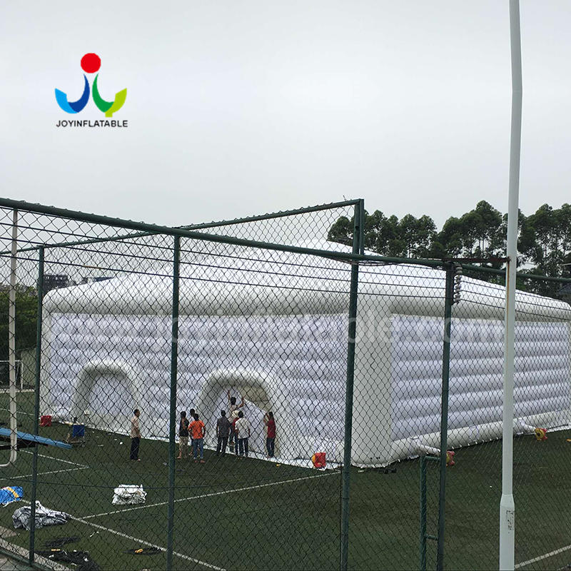 Large Inflatable Wedding Event Tent Mix with Airtight and Not Airtight Workmanship