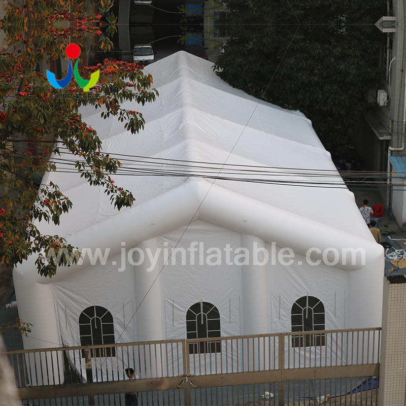 Custom Fireproof Strong Inflatable Wedding Party Lighting Cube Tent with LED