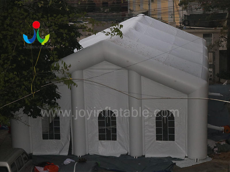 Custom Fireproof Strong Inflatable Wedding Party Lighting Cube Tent with LED Video