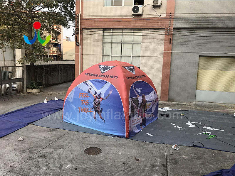 Advertising Canopy Inflatable Spider Air Tent with 4 Legs Video