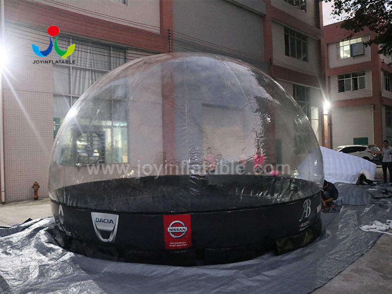 Outdoor Inflatable Bubble Portable Tent  For the Car Cover Shield Video