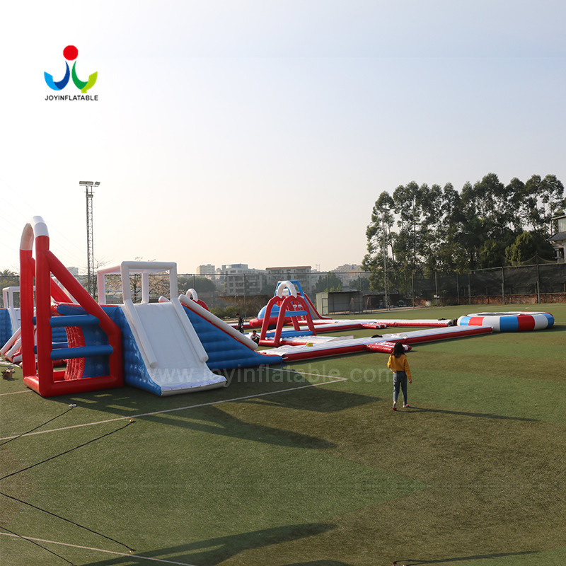 island inflatable lake trampoline with good price for kids-6