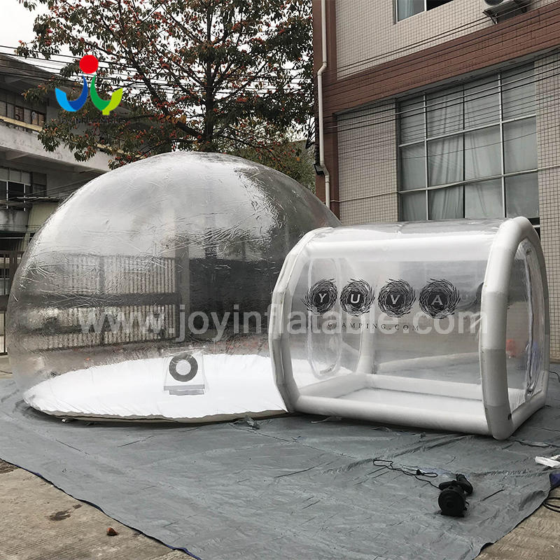 Giant Inflatable Outdoor Camping Clean Dome Air Bubble Tent