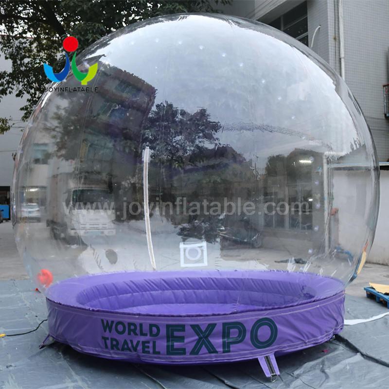 Transparent  Balloon Fashion Shows Inflatable Snow Display Ball