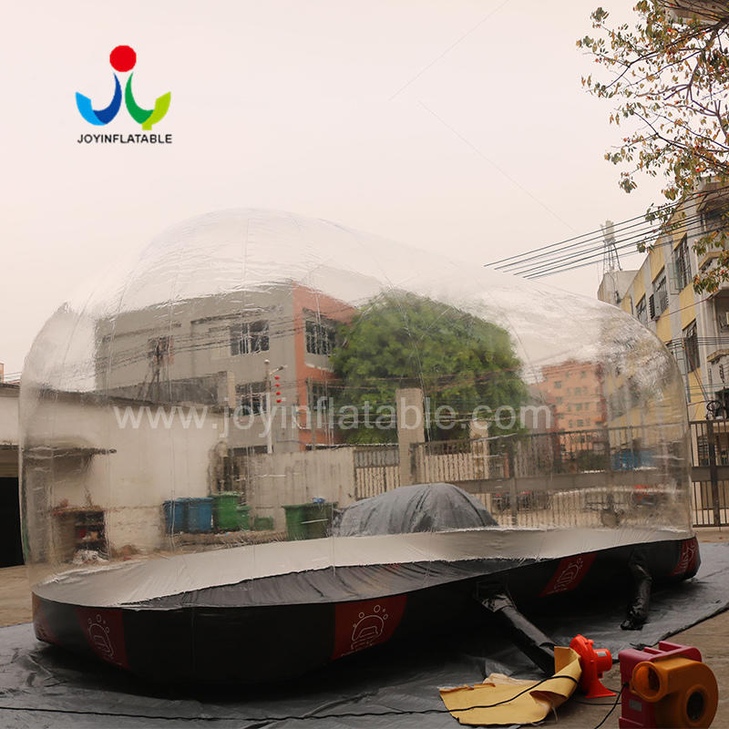 Outdoor Dustproof Inflatable Bubble Car Cover Tent For Display Table