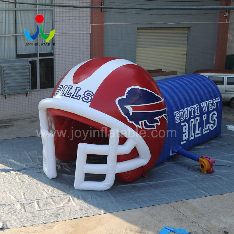 Inflatable Helmet Football Sport Tent Tunnel Entrance For Outdoor Event