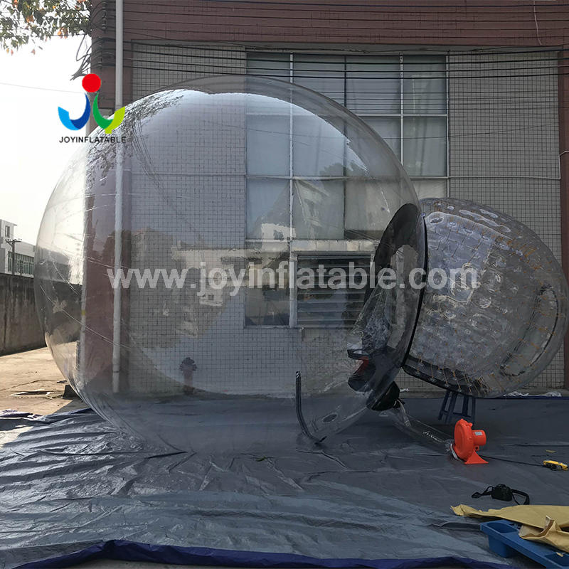 Anti-Radiation Environmental Inflatable Transparent PVC Bubble Tent