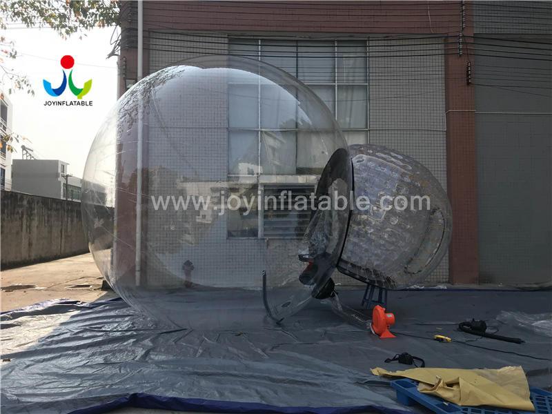 Anti-Radiation Environmental Inflatable Transparent PVC Bubble Tent