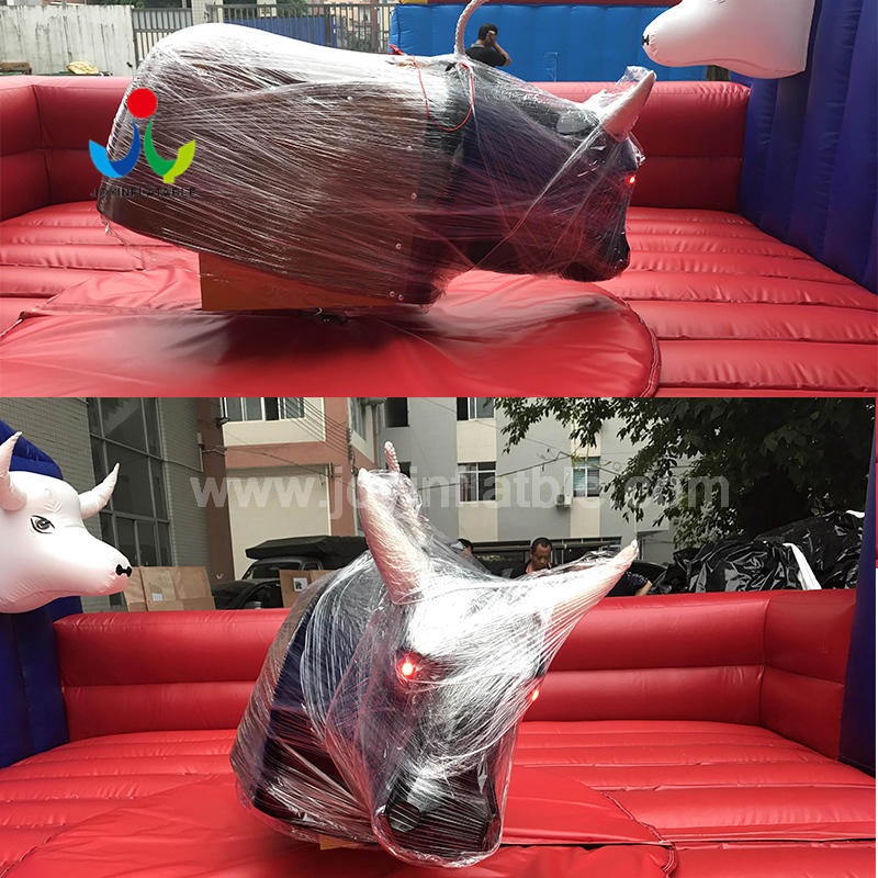 Amusement  Park Games Inflatable Rodeo Riding Mechanical Bull For Sale