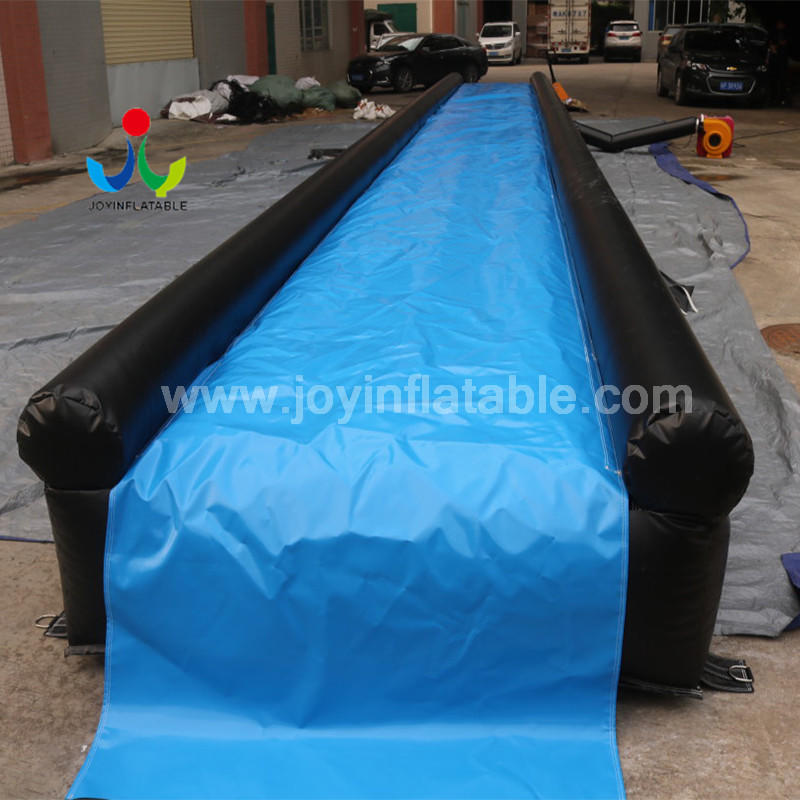 Free Fall Inflatable Slip N Fly Water City Slide For Adult