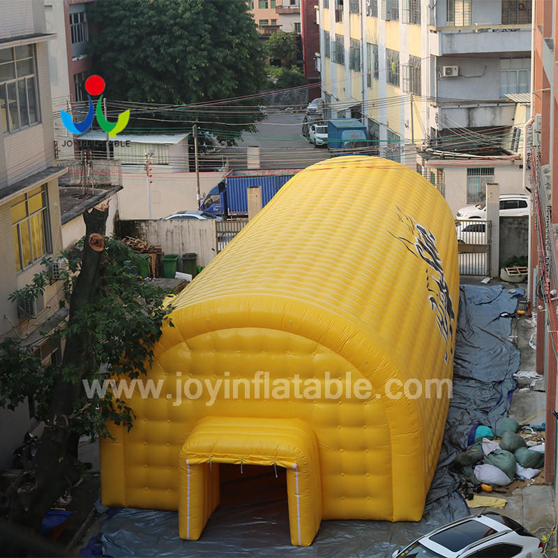 Professional Factory Custom Inflatable Air Tents Structure For Outdoor Sport