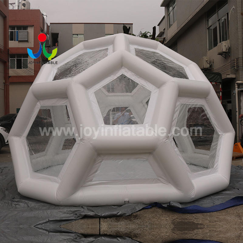 Inflatable Clear Spherical Dome Bubble Tent For Outdoor Camping