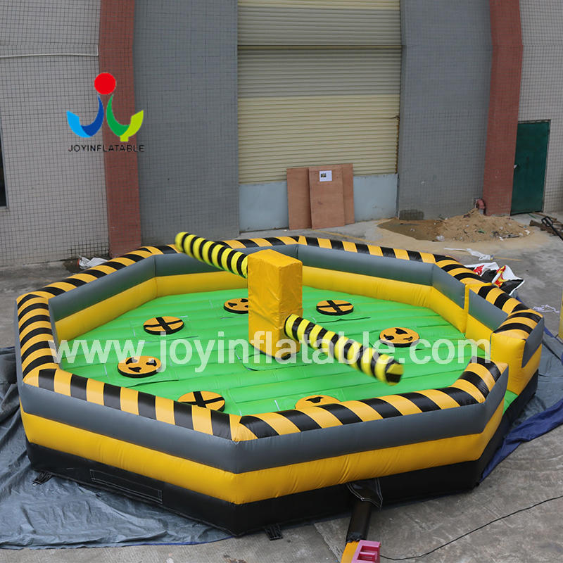 Inflatable Rotating Machine Eliminator Sweeper Meltdown Wipeout Game Sale
