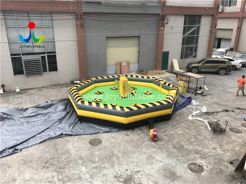 Inflatable Rotating Machine Eliminator Sweeper Meltdown Wipeout Game Sale Video