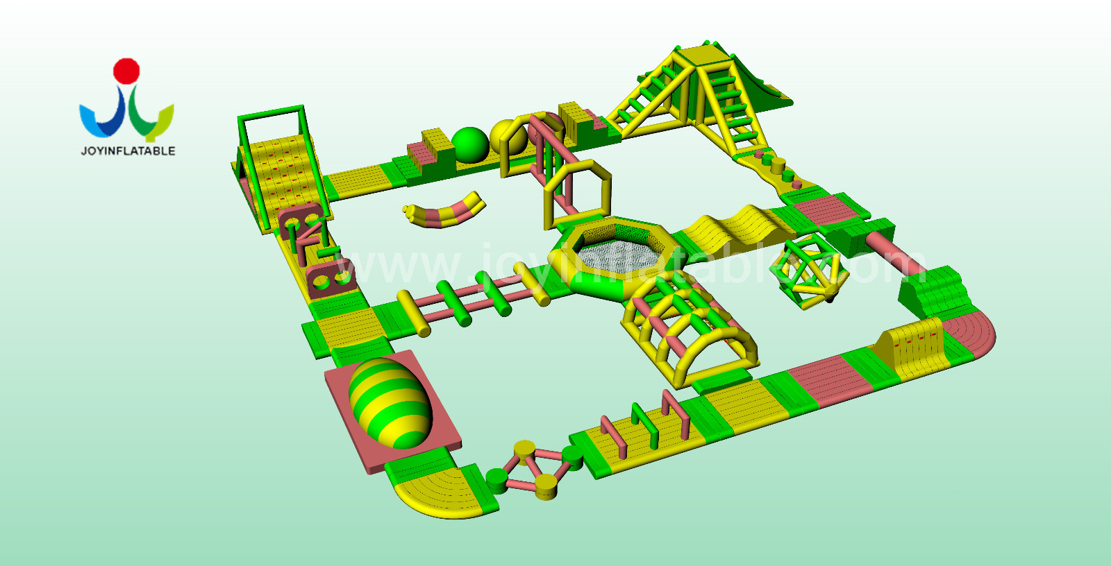 inflatable aqua park for child JOY inflatable-6