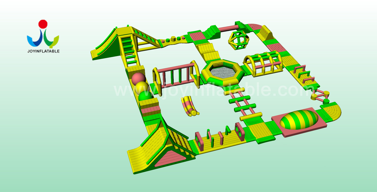 reliable kids inflatable water park series for kids JOY inflatable-7