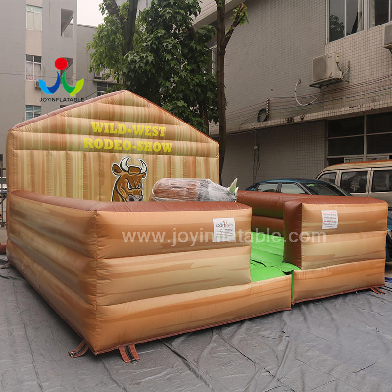 High Quality Inflatable Adult Ride on toys Mechanical Bull Rodeo for Outdoor Playground