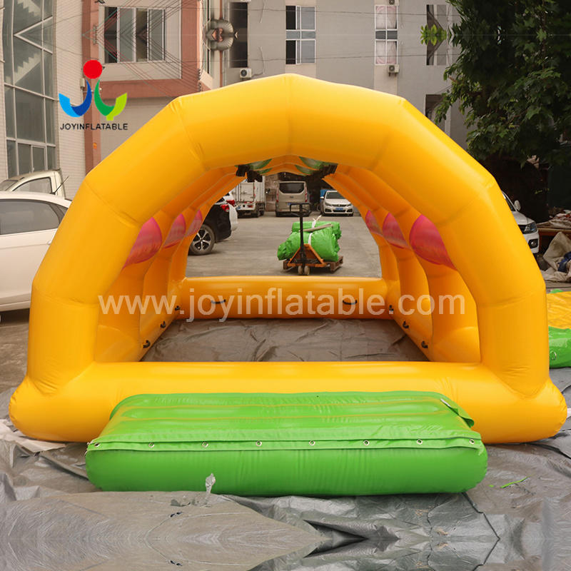Inflatable Water Floating Obstacle Course Game For Resort