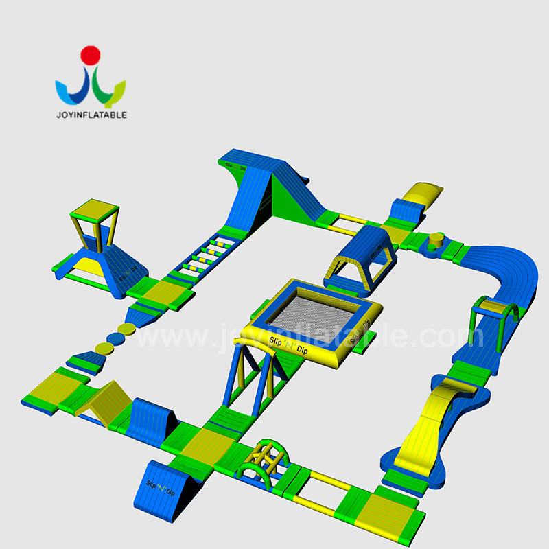 JOY inflatable inflatable lake trampoline design for kids