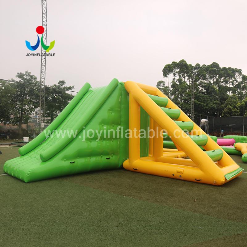 Inflatable Water Park Equipment Floating Amusement Water Slide