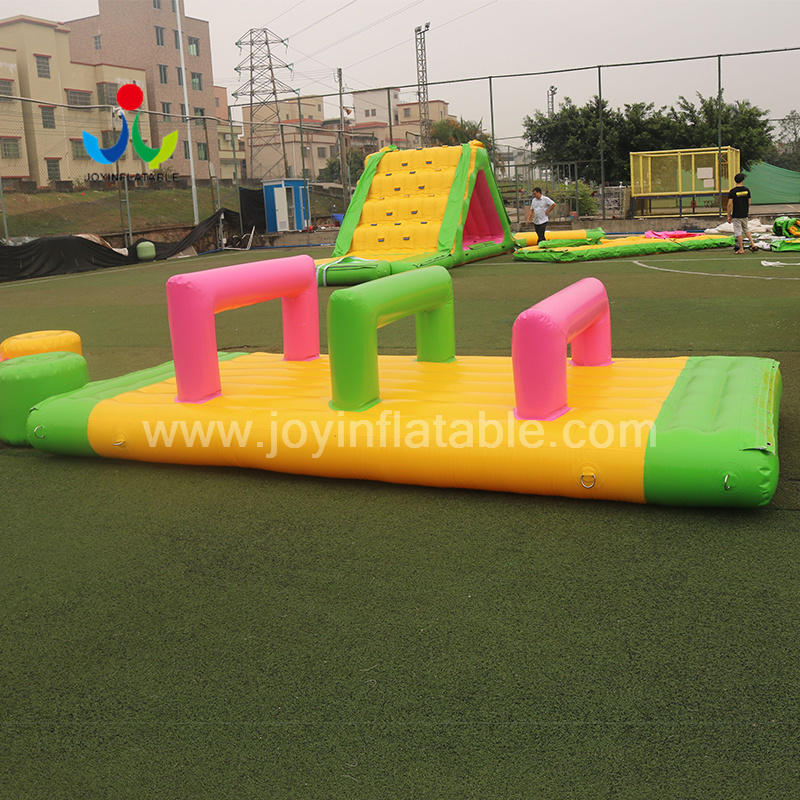 Open Water Inflatable Water Park Games For Adults