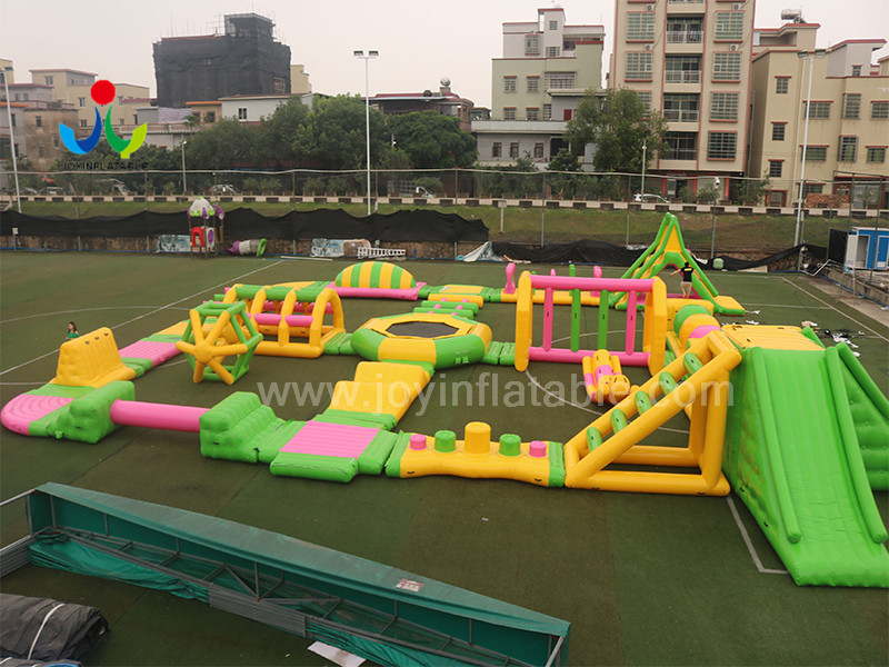 trampoline commercial inflatable water park wholesale for children JOY inflatable-5