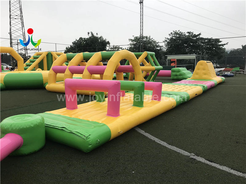 Open Water Inflatable Water Park Games For Adults Video