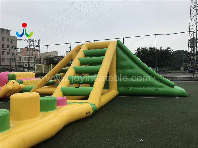 Inflatable Water Park Equipment Floating Amusement Water Slide Video