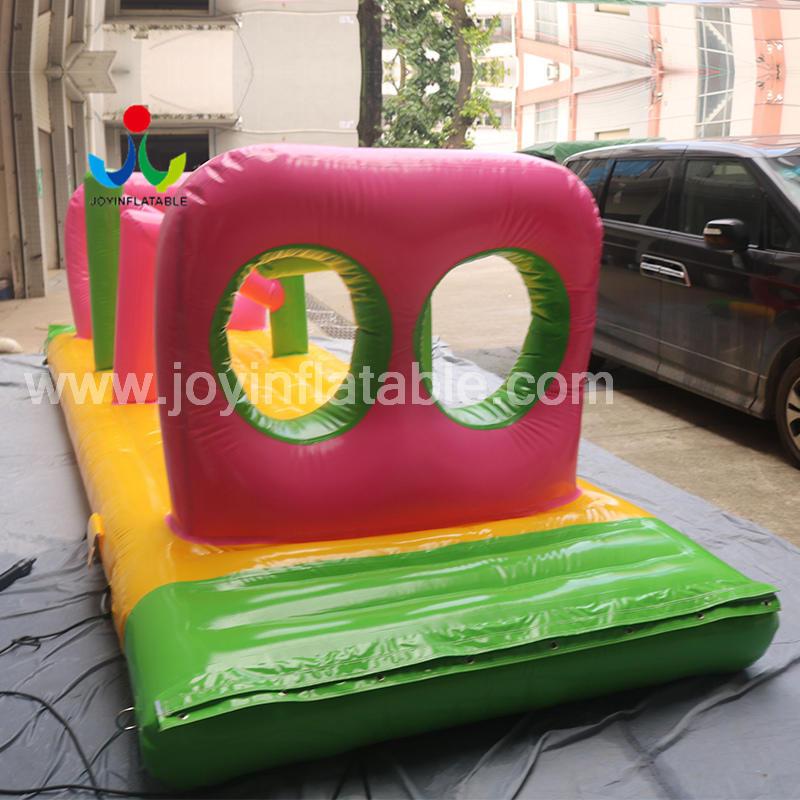 Custom  Inflatable Sport Aqua Ocean Park For Commercial Amusement
