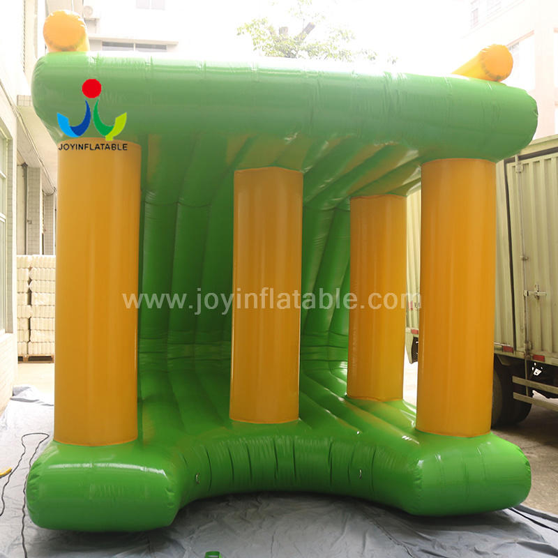 Outdoor Amusement Water Theme Inflatable Sea Island Floating Obstacle Park
