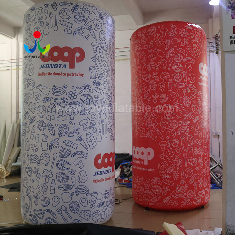 Wedding Party Decoration Inflatable Column Pillar For Ourdoor Advertising