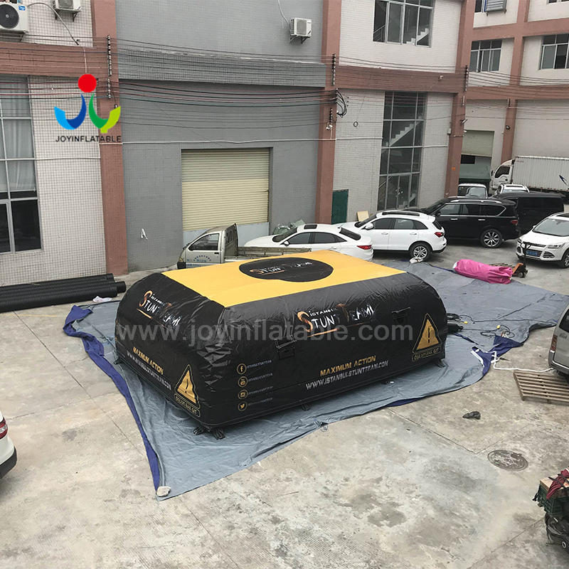 Soft Inflatable Landing Air Bag Air Mat For Mountain Bike